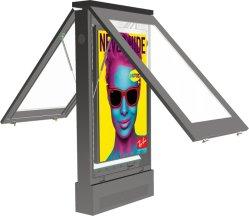 De 2500 nits de 86 pulgadas Digital Signage Dooh independiente al aire libre