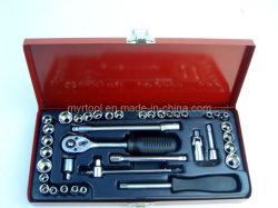 "39 PCs - 1/4 "" Dr. Metal Case Socket Set (FY1439A)"