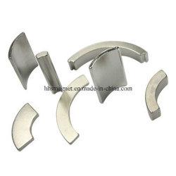 De aangepaste Gesinterde Sterke Magneten van de Boog van het Neodymium NdFeB voor Motor