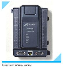 La adquisición de datos remoto y supervisión de módulo PLC T-910s con la Entrada Analógica y Digital Input/Output