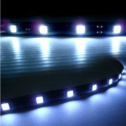 Hight Bright 30cm 15 Trois Chip 5050 SMD LED STRIP allume la LED barre souple DRL utiliser comme feux de jour LED Blanc ou Bleu