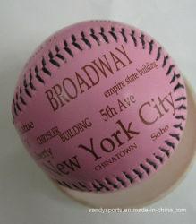 Logotipo personalizado Cork Core núcleo de caucho de softbol de béisbol