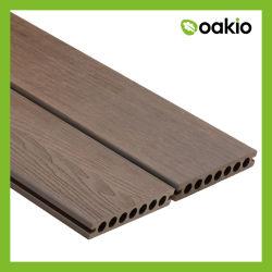PVCビニールの木の板WPCのDeckingの積層物の床板