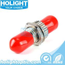 金属のファイバーの光カプラーまたはアダプターStのシングルモードシンプレックス光ファイバ