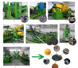 Завод по утилизации использованных шин, использованные покрышки дробления завод