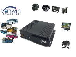 La sécurité CCTV Caméra de vision nocturne H. 264 Mdvr de carte SD de 256 Go, 3G GPS WiFi DVR pour bus d'enregistrement vidéo