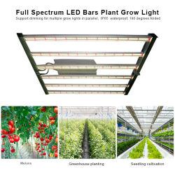 600 W de obscurecimento de dobragem Hidroponia Agricultor Full Spectrum Bar planta crescer da lâmpada de luz de LED
