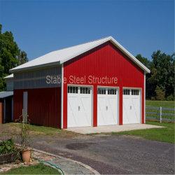 Structure en acier bon marché Garages bâtiments en métal pour la vente
