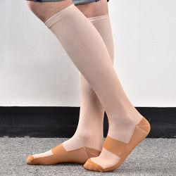 Calcetines de compresión de las ventas de todo el milagro de diferente color calcetines calcetines de compresión en stock