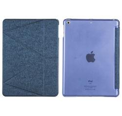 Materiais Híbridos---Estojo de plástico e de couro para iPad