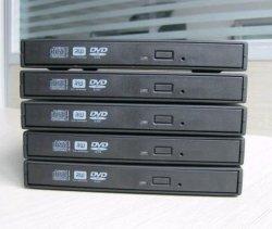 Para unidades SATA DVD RW interna