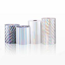 BOPP laminado térmico láser Holograma Film con el precio más bajo de la libreta de papel
