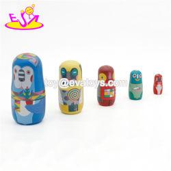 어린이용 수공예 카툰 러시아어 둥지 인형 세트 W06D111