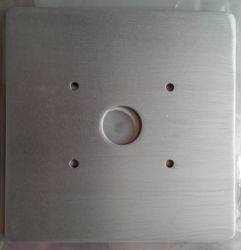 Metal perforado de OEM de estampación de piezas con el zincado para piezas estampadas