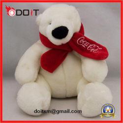 L'ours polaire blanc Scarve jouet jouet en peluche Teddy Bear