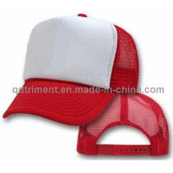 Популярные губкой полиэфирная сетка Trucker Red Hat (T-красная крышка)