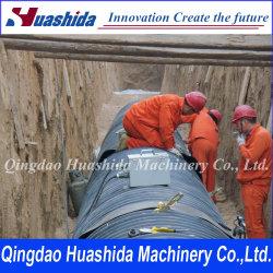 Liage et matériau de revêtement de tuyau de gaz d'huile (PEHD)