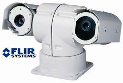 Véhicule IP de l'imagerie thermique et IR Caméra PTZ haute vitesse (SHJ-TA3250-IP)