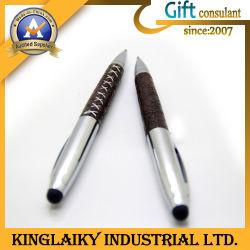 قلم أنيق مزود بكرة لمس للهدية الترويجية (KP-043)