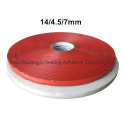 이동할 수 있는 테이프, 껍질 및 물개 접착 테이프, 양면 테이프, OPP를 위한 스티키 부대 밀봉 테이프는 자루에 넣는다 (14*4.5mm)
