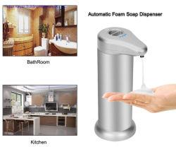 Modo ajustable de aleación de aluminio sin tocar la mano sin sensor automático dispensador de jabón espuma 300 ml
