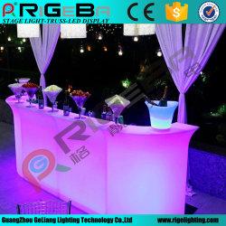 Plastique meubles d'éclairage à LED RVB sans fil