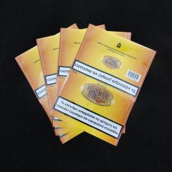 Dreierdichtung kann wiederverwendeter Reißverschluss-Tabak-Beutel sein