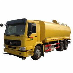 Depósito de agua de 20 toneladas de agua de rociadores para la venta de camiones cisterna