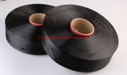 La Chine Fabricant grs et fils de polyester recyclé certifiés Oeko-Tex Charbon de bois de Bambou POY/Filament DTY pour le tricotage et le tissage