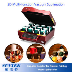 Mini белый 3D-вакуум Сублимация нажмите кнопку нагрева машины (ST-3042)