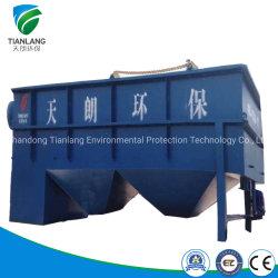 Planta de tratamiento de aguas residuales de los productos lácteos con equipos de flotación por aire disuelto