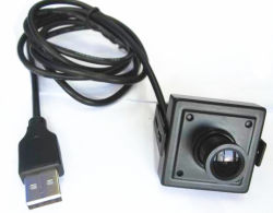 1.3MP HD 널 렌즈를 가진 소형 USB CCTV 사진기, ATM Machine& 산업 설비에 사용되는 대중, 의료 기기 등등