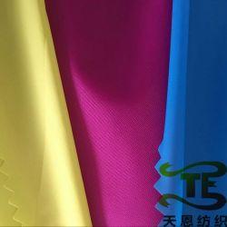 La Chine textiles 380t stock de taffetas de nylon tissu coloré pour vêtement