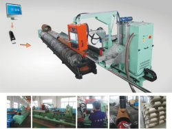 Tuyau rond/tube/flamme plasma CNC machine de coupe