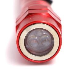 Het telescopische Flexibele Hoofd van de Magneet van het Flitslicht neemt LEIDEN van het Hulpmiddel Flitslicht op