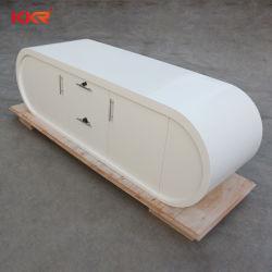 商業レセプションのカウンターの固体表面のフロントデスク