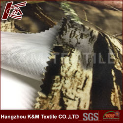Impresión Mossy Oak Pulido Tricot de poliéster tejido Paño de caza