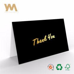 Danken Massengoldfolie des satz-100 Ihnen Karten