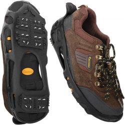 高品質の冬の屋外の上昇のスリップ防止雪の氷の靴のグリップ
