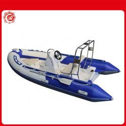 Marcação ce de Novo Modelo 5 Pessoa Pesca rígida costela insufláveis barcos para venda