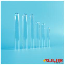 De plástico tubo de ensayo de laboratorio