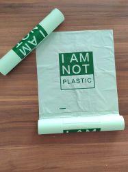 Starch-Based 100% biodegradables bolsas planas en el rollo