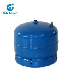 1kg 3 Kg 5 Kg de peso 9kg 11kg de gas de hidrógeno compuesto de vacío Mini bombona de gas con horno