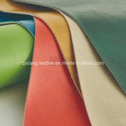 Pelliccia di cuoio della cera dell'olio del PVC per il sacchetto di cuoio del sofà della mobilia