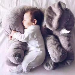 Plush recheado animais elefante bebé Almofada de sono travesseiro Elefante