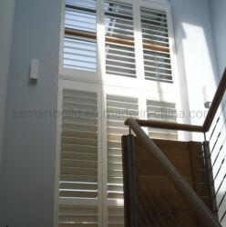 공기 환기용 자외선 차단 화이트 컬러 PVC 셔터/UPVC 셔터 중국 공산 좋은 가격의 하우스 30에 적용됩니다 년 보증