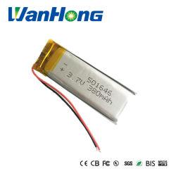 UL CEI62133 3,7 V 380mAh rechargeable au lithium-ion 501646pl Li-polymère Fordvd Lipo Batterie pour appareil photo/GPS/PSP/Bluetooth