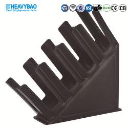 Suporte para Copos de café grossista Heavybao Caneca Rack do visor de plástico acrílico dispensador de papel