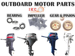 YAMAHA, Suzuki, Tohatsu, , a Nissan Motor externo do rolamento do pinhão de partes separadas do motor&Gear, gaxeta, Kit de Pistão e Biela