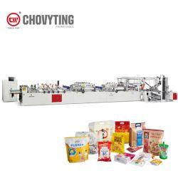 3 боковой площади уплотнения нижней части упаковки закусок пакет молнией на постоянной связи Doypack Чехол Bag бумагоделательной машины